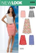 6053 New Look Pattern: Misses' Skirts